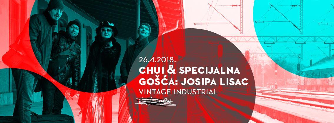 Nagrađivani band Chui sprema koncert s Josipom Lisac