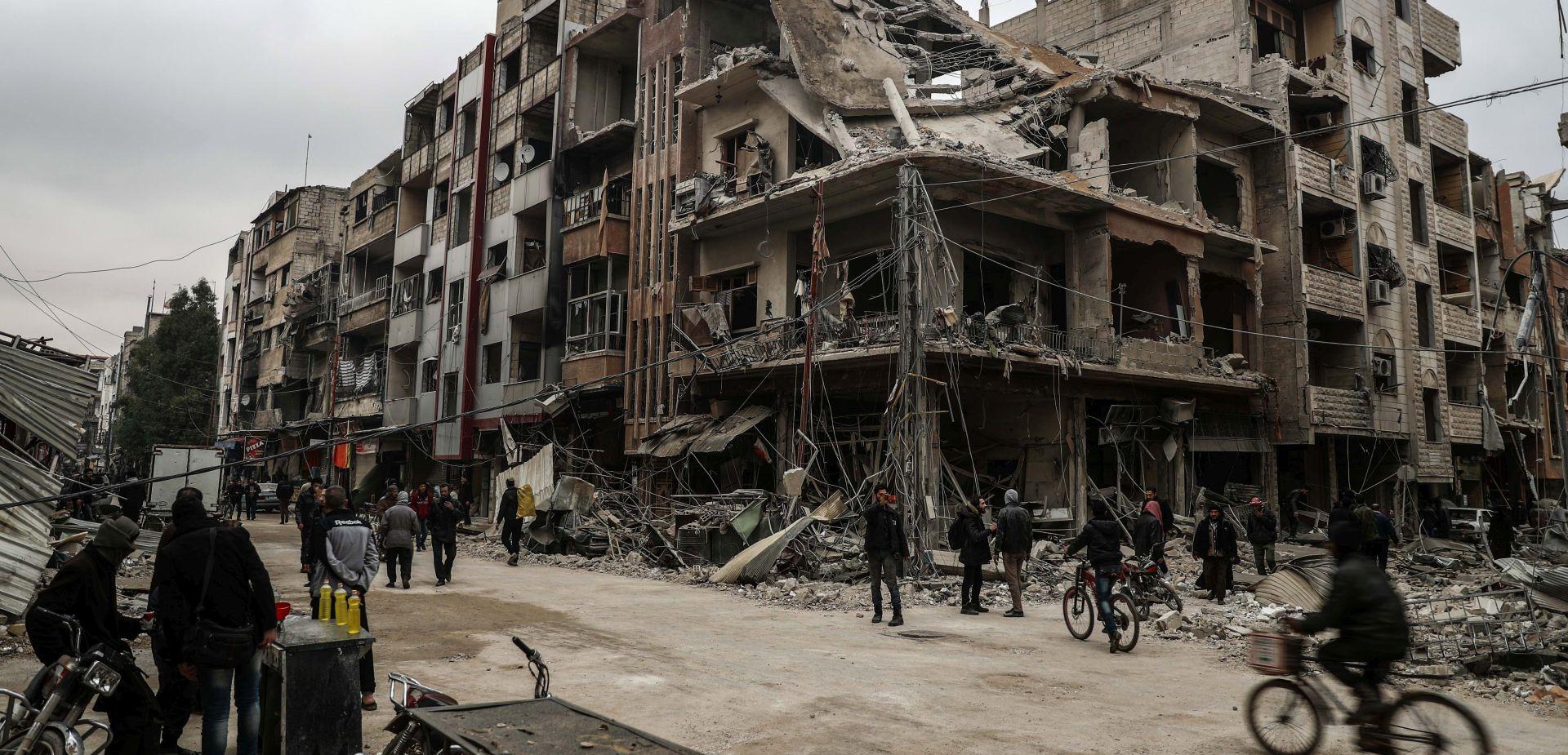 Sirijska vojska osvaja položaje u istočnoj Ghouti