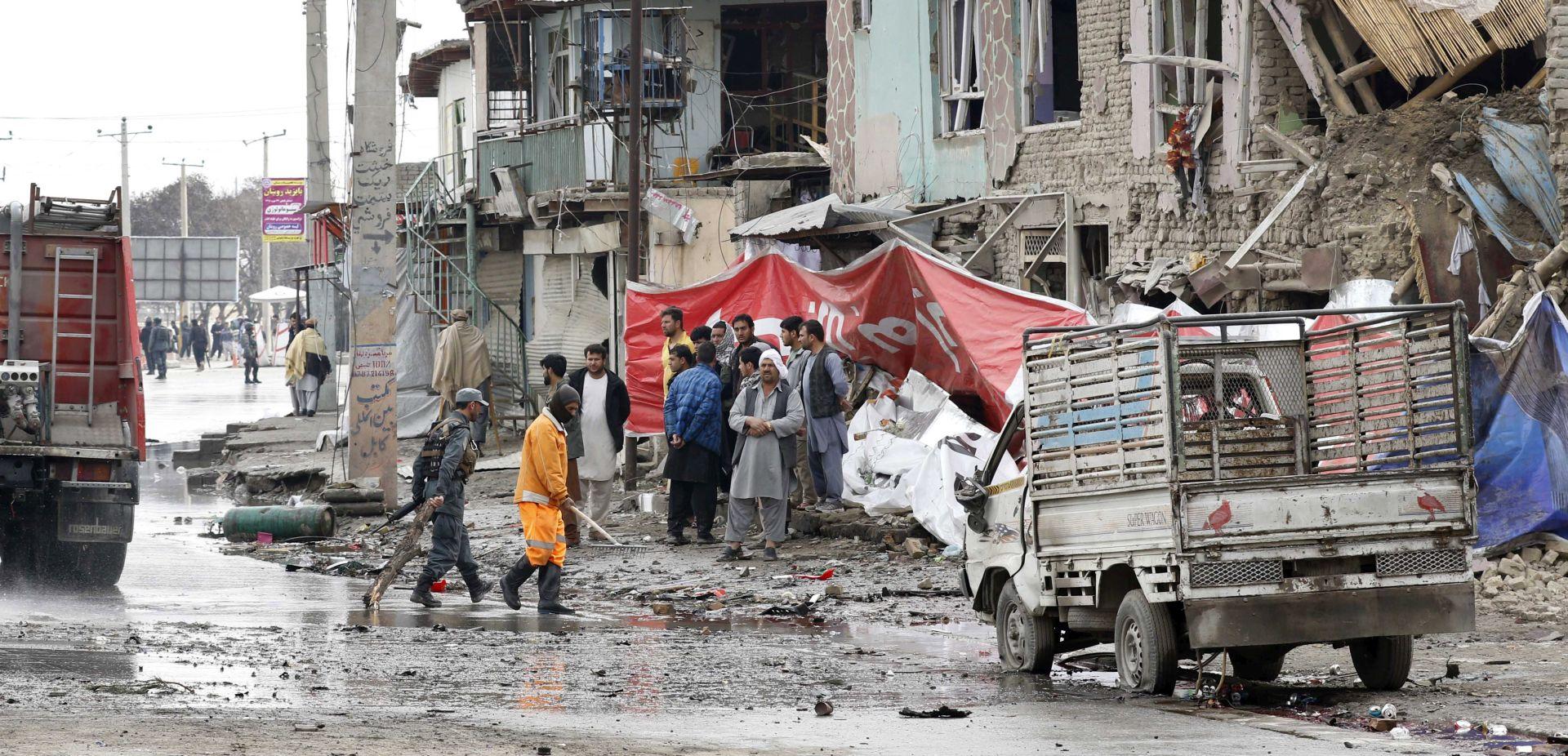 Samoubilački napad na konvoj stranih snaga u Kabulu