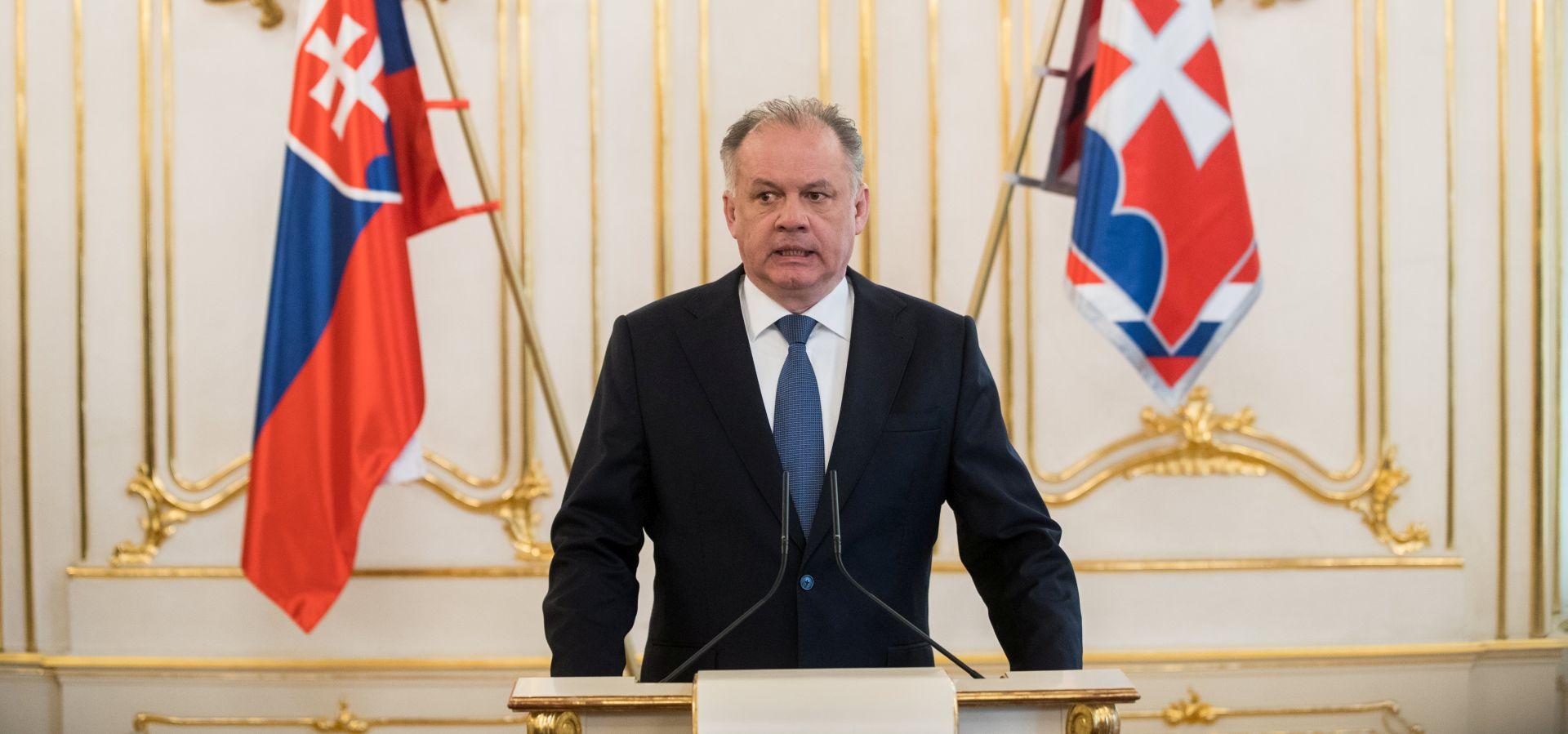 SLOVAČKA Kiska odbio prihvatiti Pellegrinijevu vladu