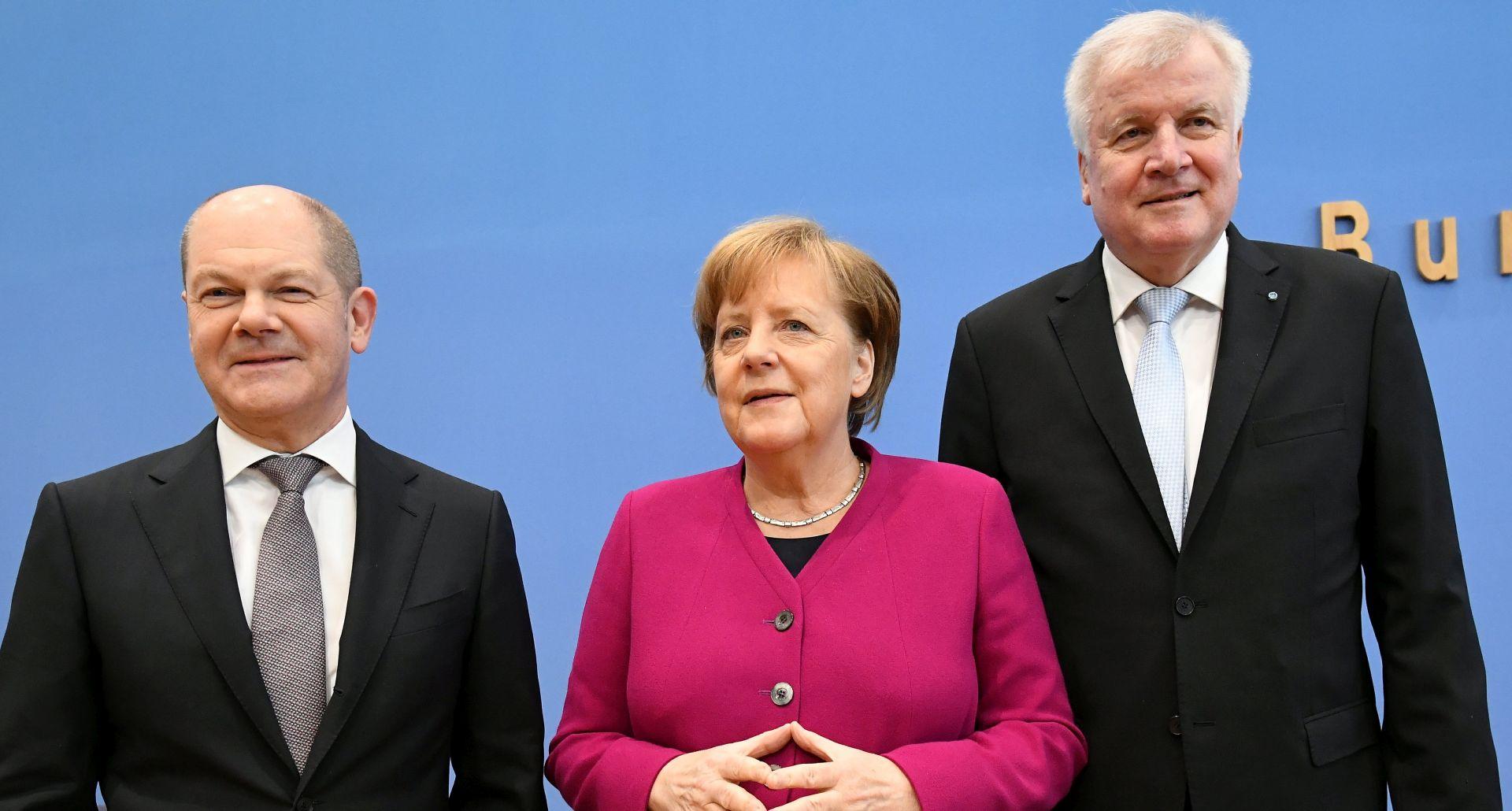 Njemački demokršćani i socijaldemokrati potpisali koalicijski ugovor