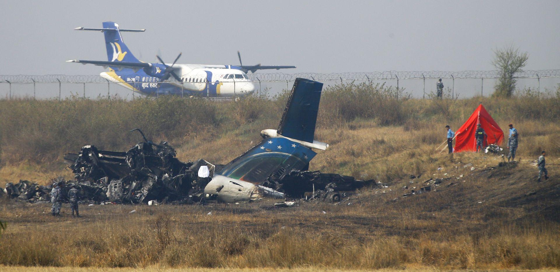 Pronađena crna kutija u olupini zrakoplova koji se srušio u Nepalu