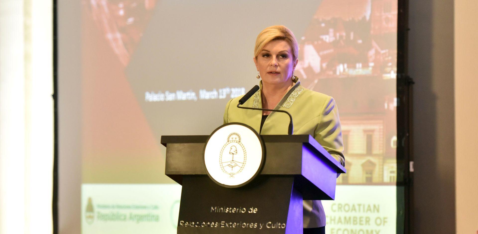 Predsjednica danas u Antofagasti završava posjet Čileu