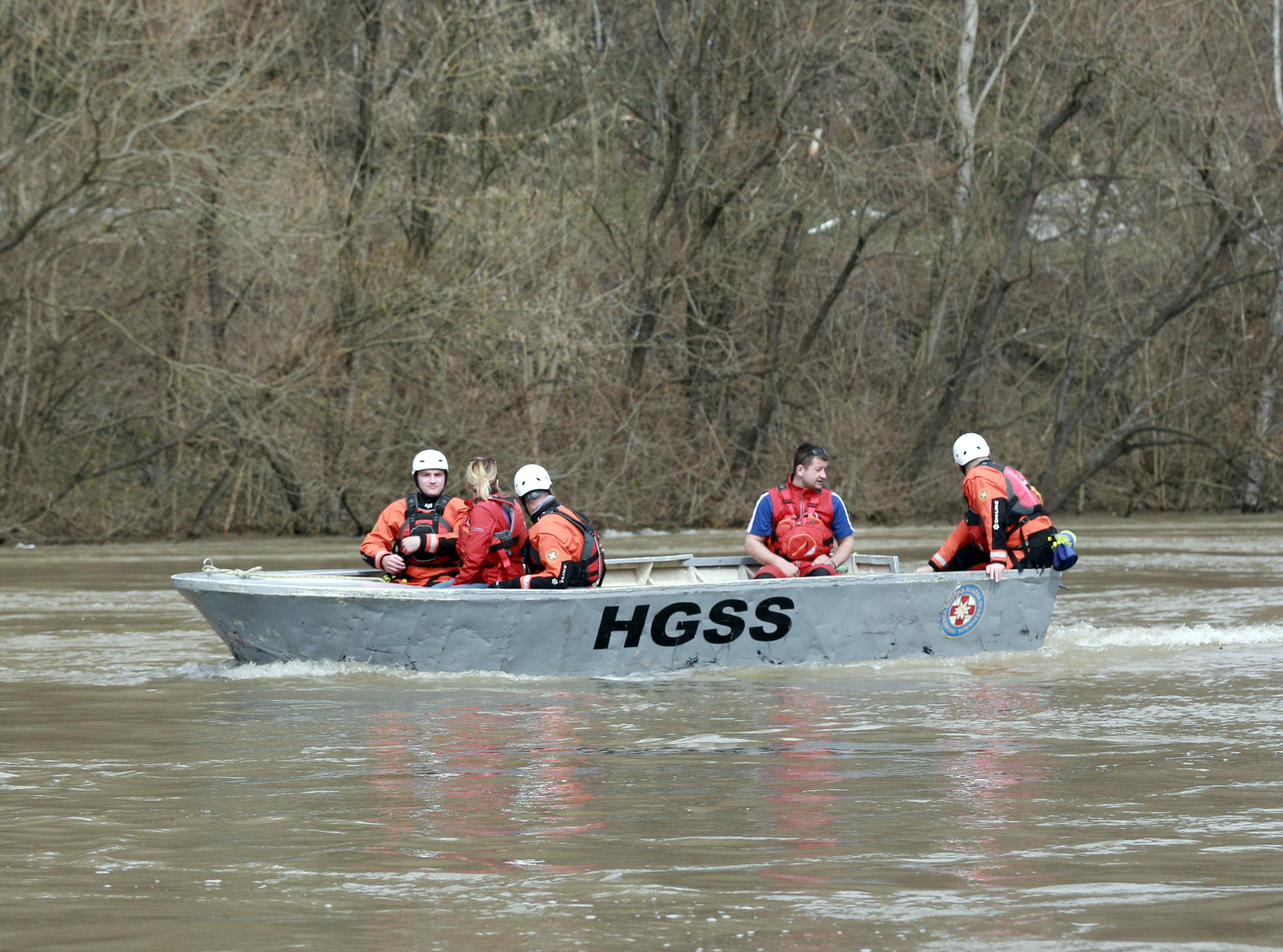 HGSS i dalje pripravan na poplavljenim područjima