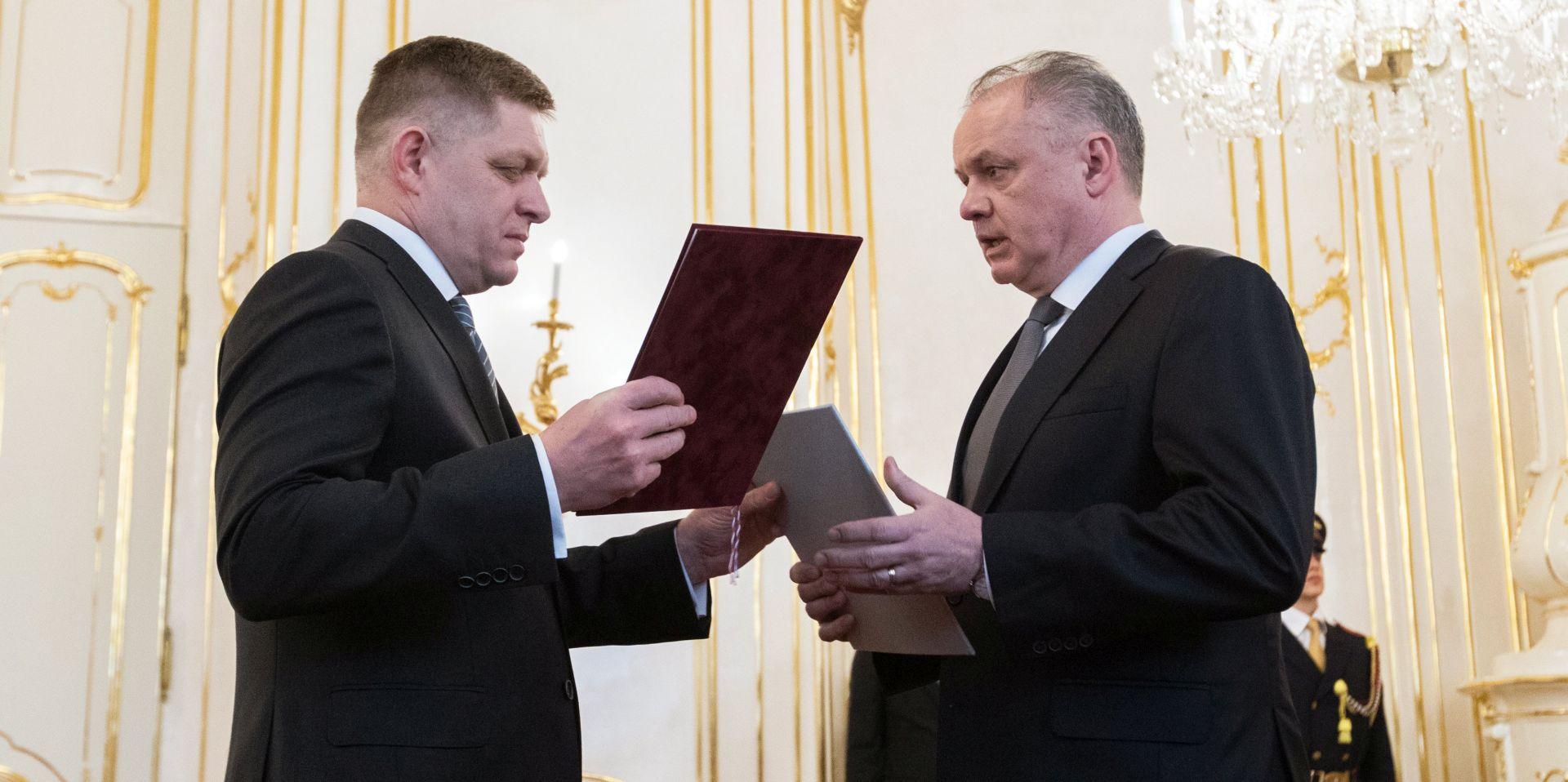Slovački predsjednik potvrdio novu vladu