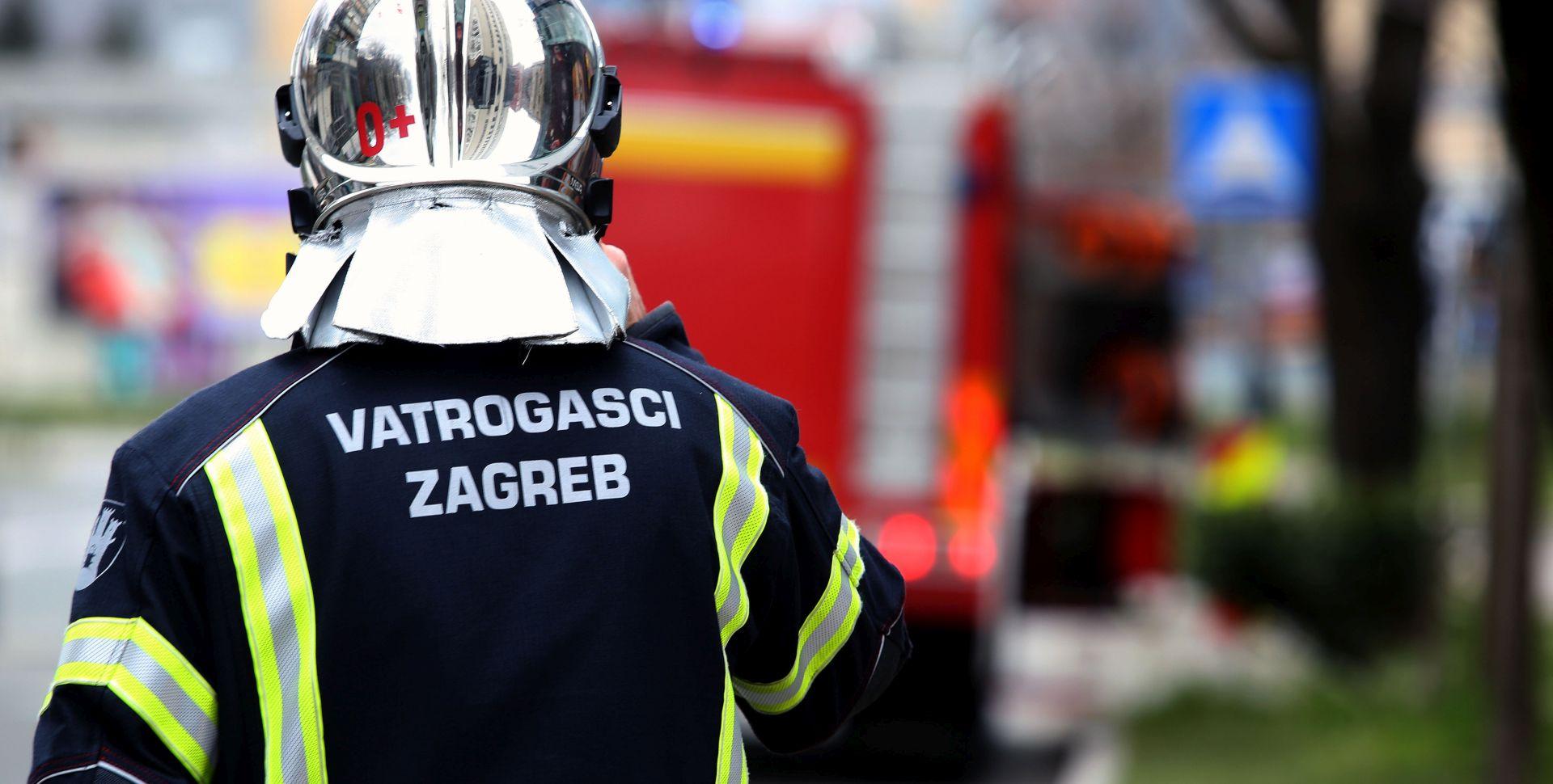 Ugašen požar u zgradi Zagrebačke nadbiskupije