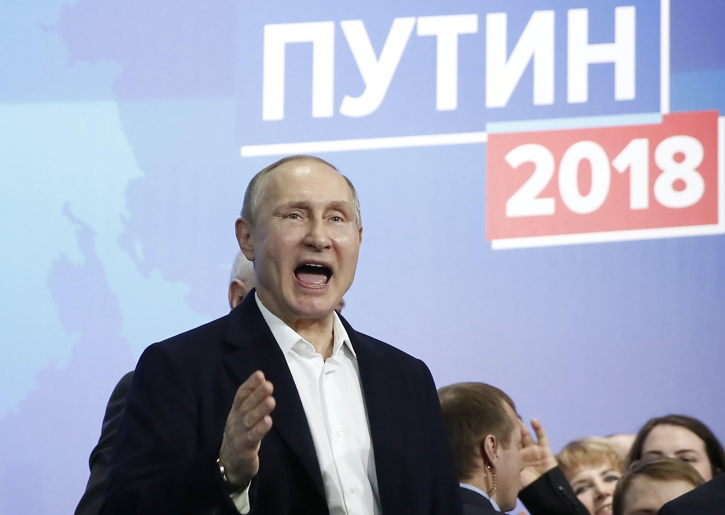 Putin zahvalio Rusima nakon pobjede