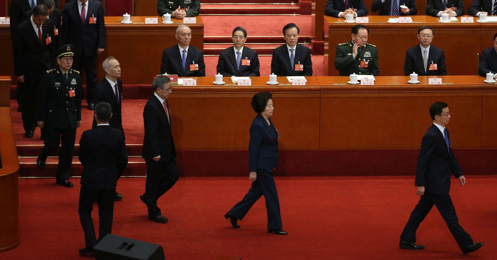 Kina obavila rekonstrukciju vlade