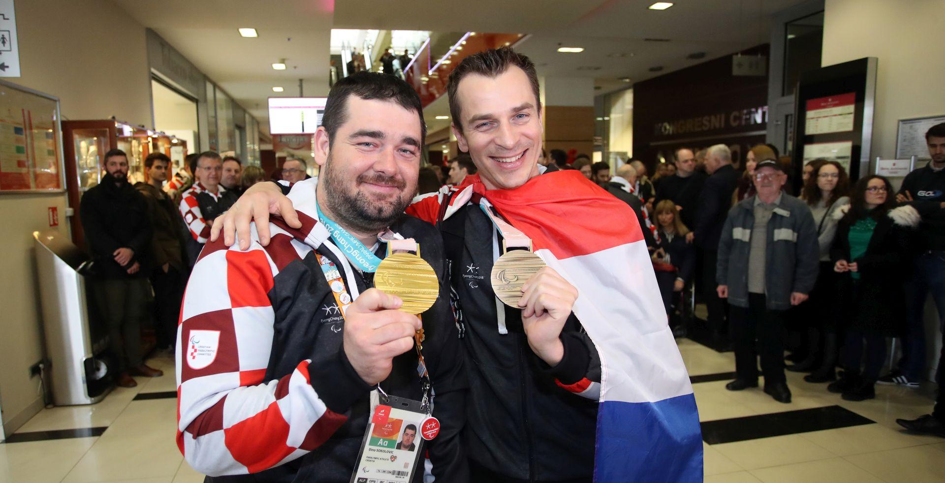 Svečano dočekana paraolimpijska reprezentacija