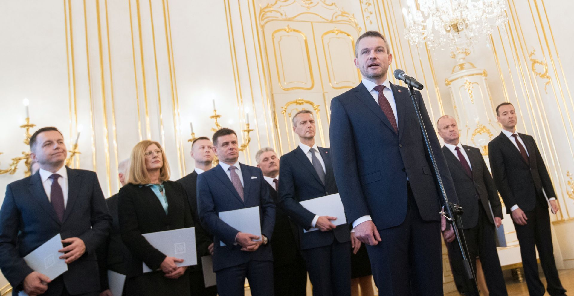 Prisegnuo novi slovački premijer