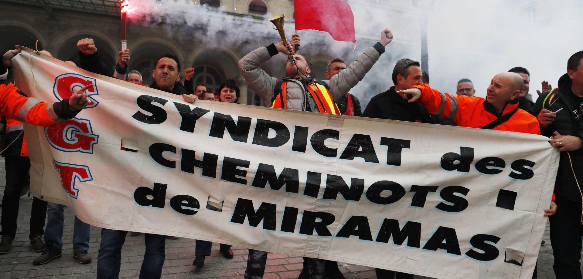 Diljem Francuske štrajkovi protiv Macronovih ekonomskih reformi