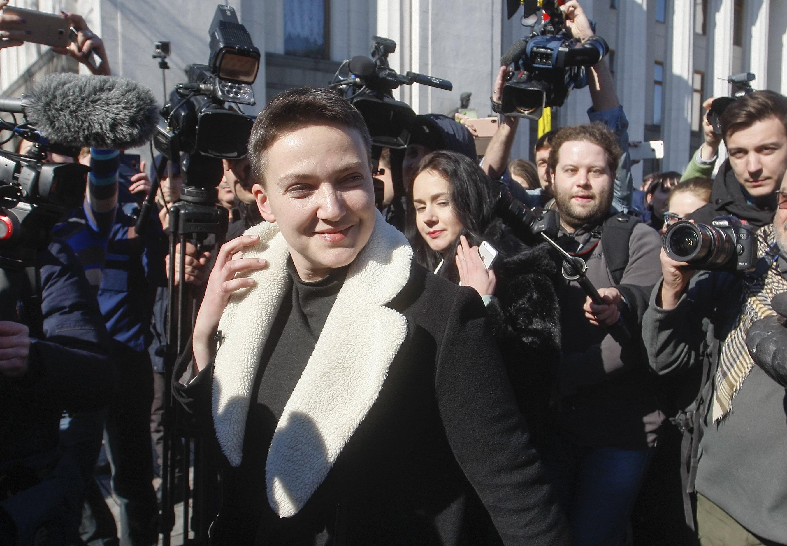 Ukrajina uhitila donedavnu junakinju Savčenko zbog planiranja prevrata