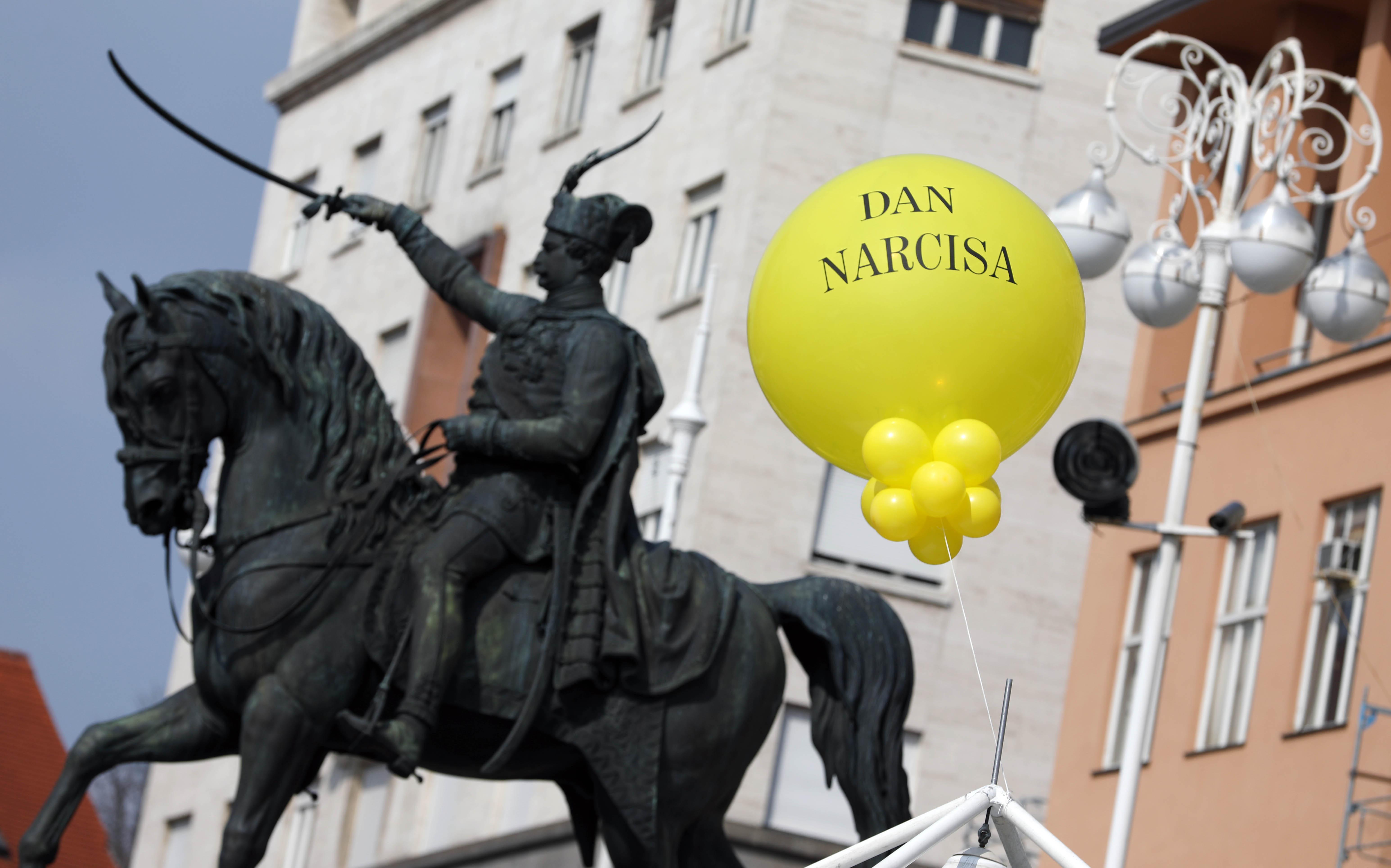 U središtu Zagreba obilježen Dan narcisa