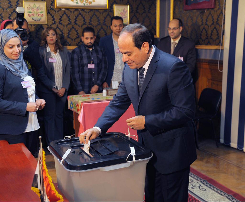 Pobjeda al-Sisija na predsjedničkim izborima u Egiptu