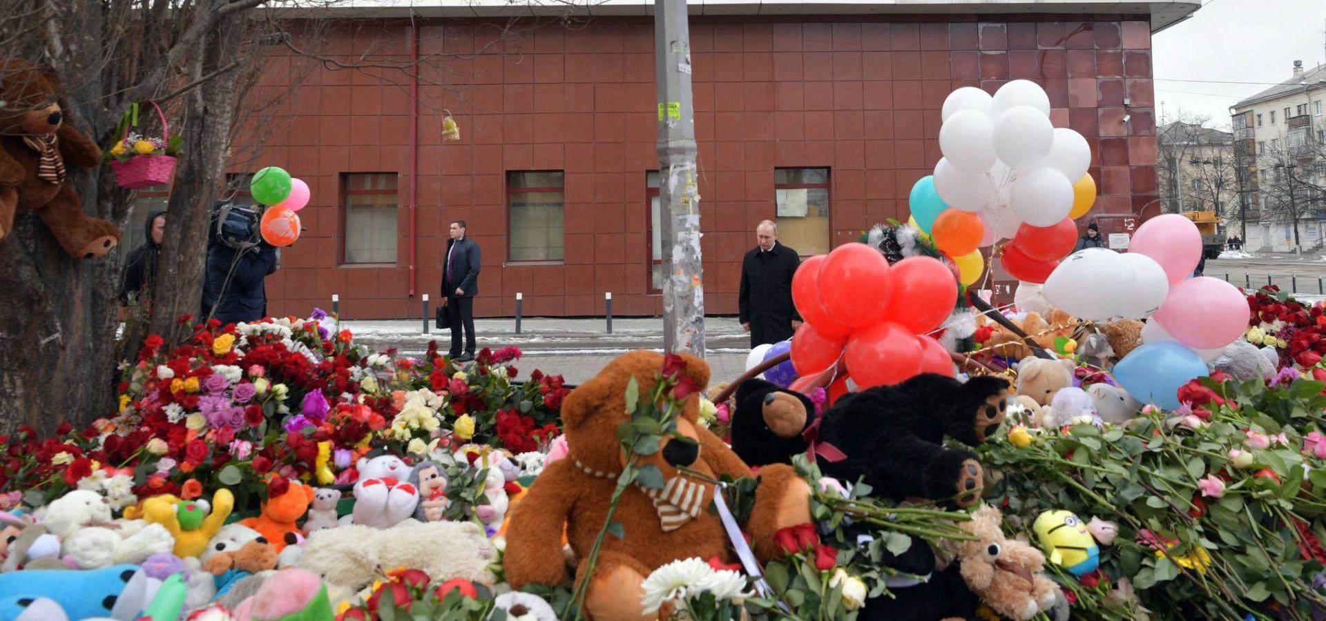U požaru u trgovačkom centru poginulo 41 dijete