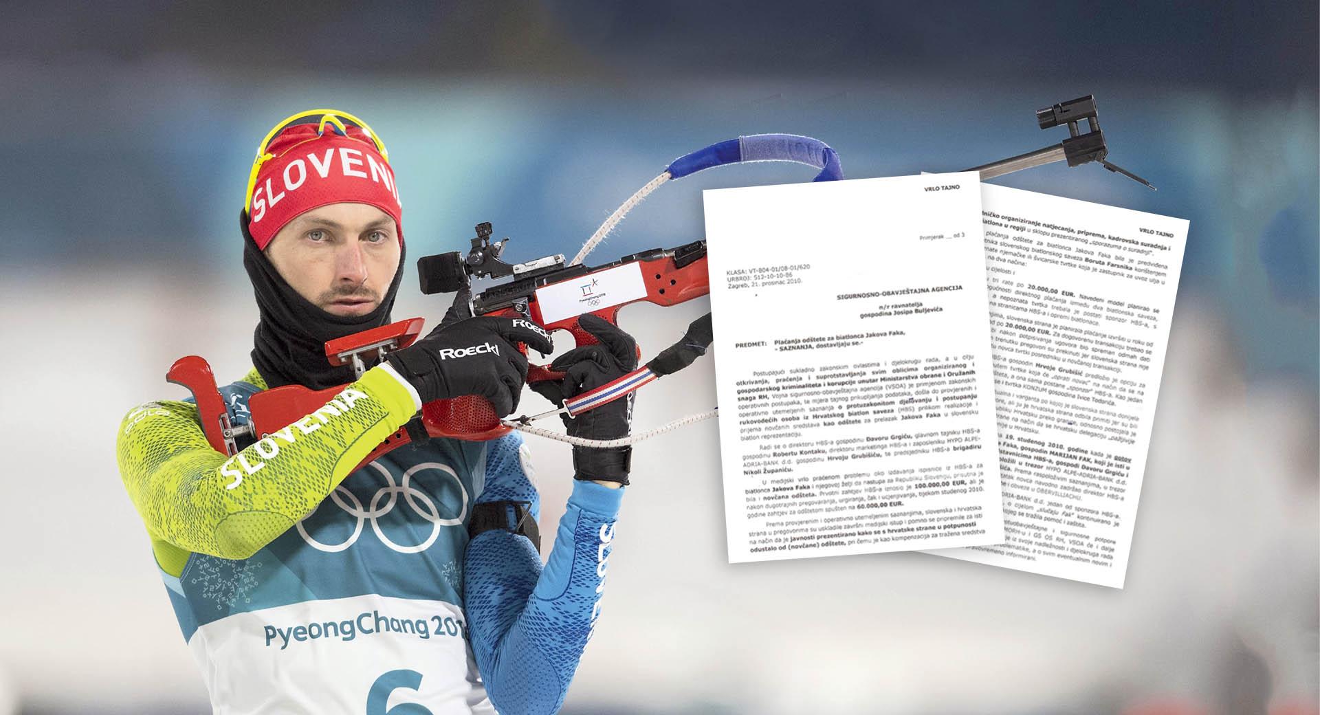 ŠPIJUNSKI DOSJE 60 tisuća eura za prelazak Jakova Faka u Sloveniju