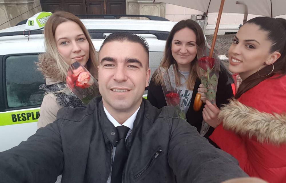 Naručile taksi, a stiglo im – cvijeće