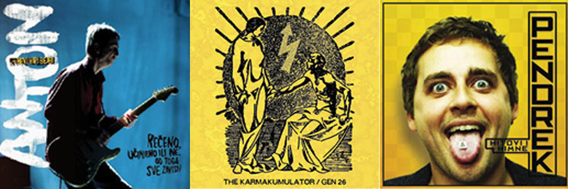 GLAZBENE RECENZIJE Anton+Hevi Hipibejbi, The Karmakumulator, Pendrek