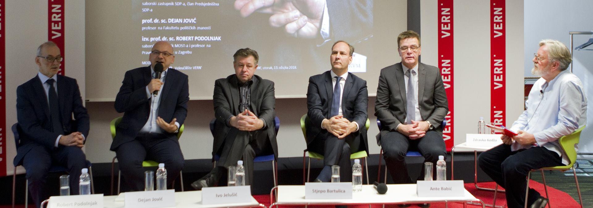 VERN' Održana panel diskusija pod nazivom 'Politika i moral'