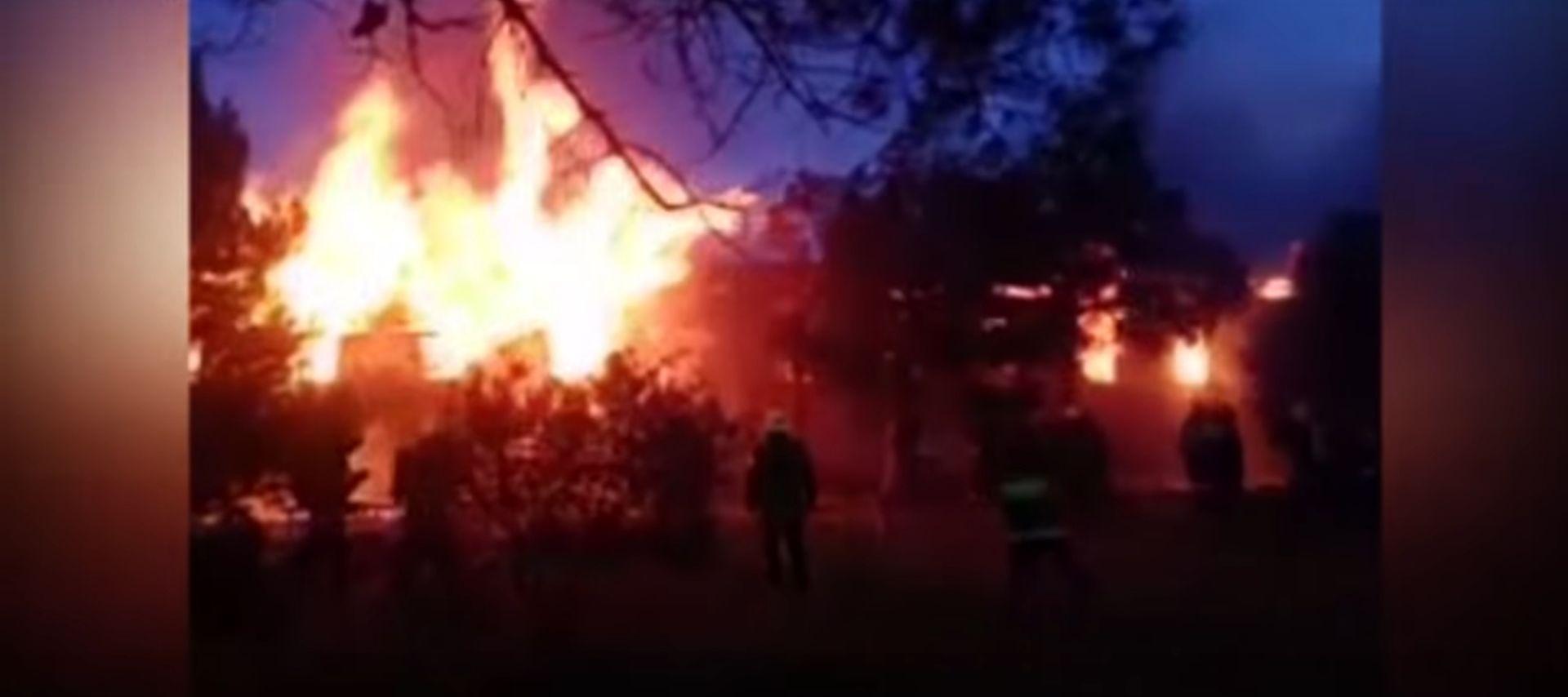 Veliki požar u klinici za rehabilitaciju u Bakuu, najmanje 25 mrtvih