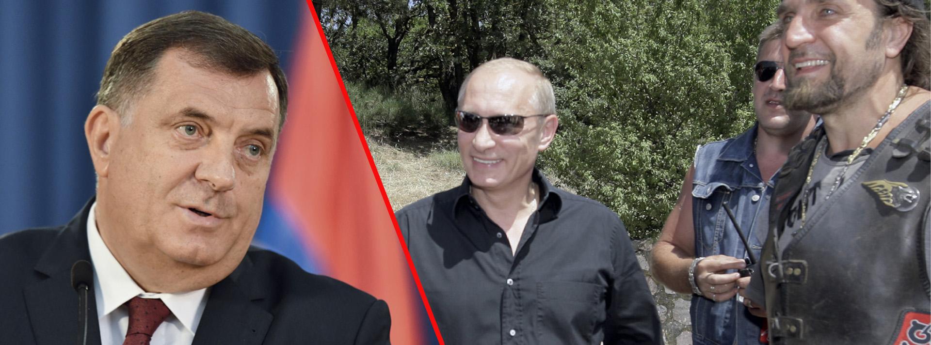 Dodik doveo Putinove militante na granicu s Hrvatskom