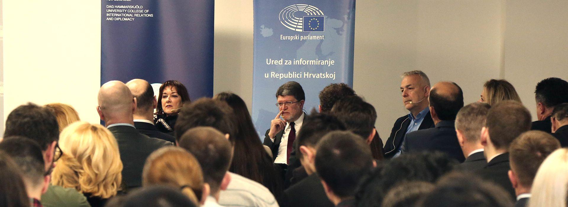 """EUROPARLAMENTARCI """"Hrvatska javnost i političari nedovoljno upoznati s funkcioniranjem EU-a"""""""