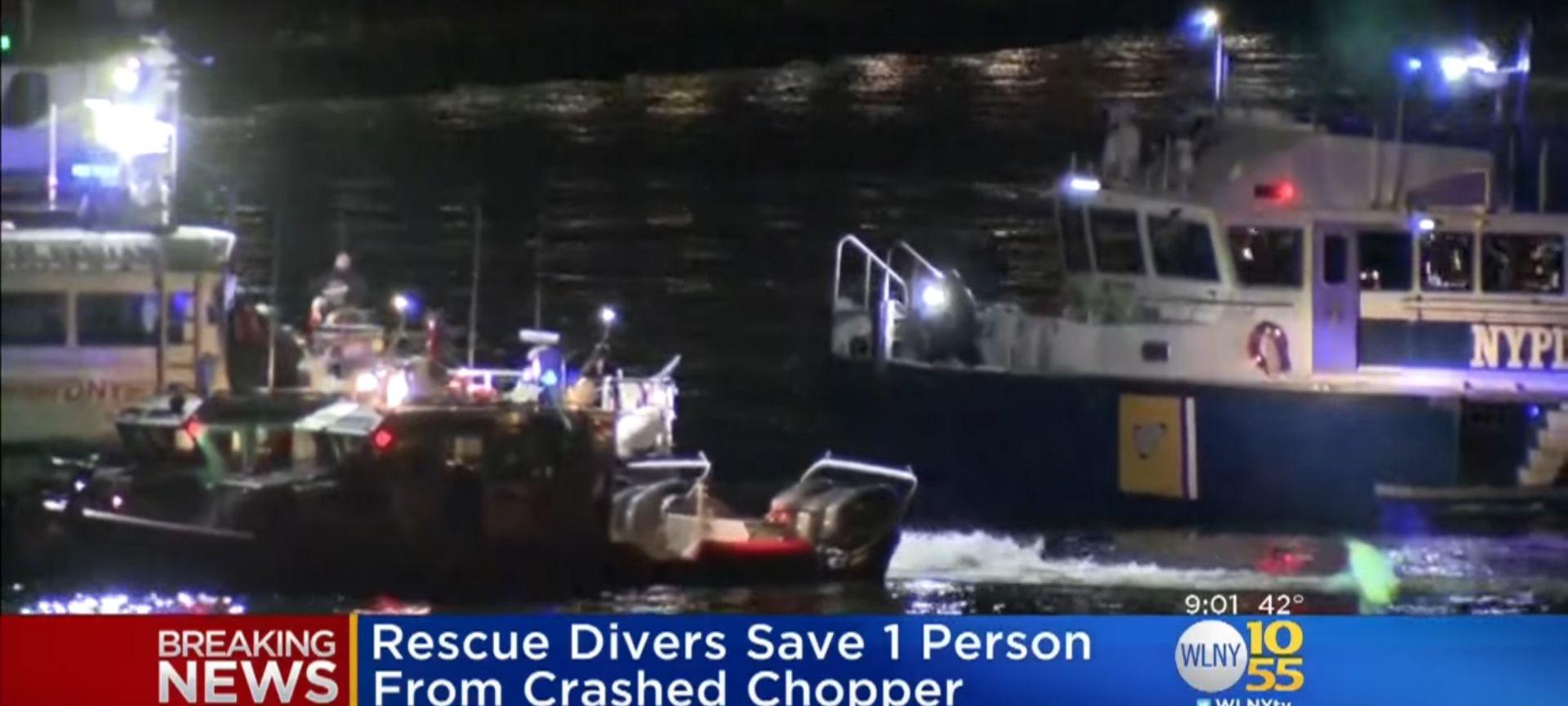 VIDEO: Helikopter pao u East River, pet putnika poginulo