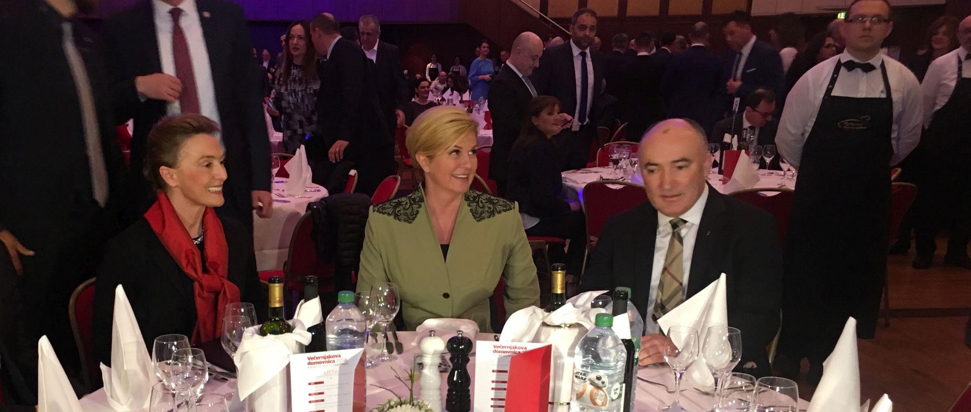 Predsjednica u Njemačkoj pozvala na jačanje 'globalne Hrvatske'