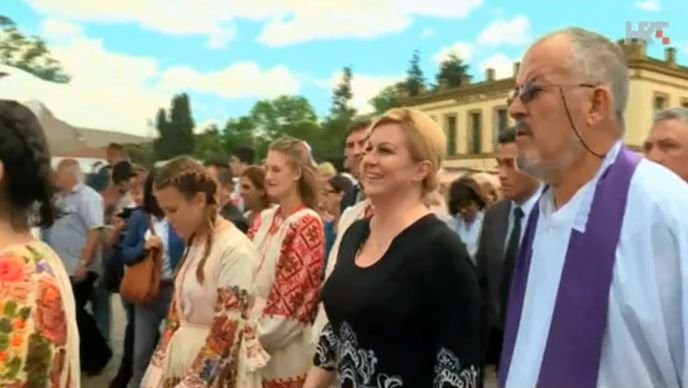 VIDEO Hrvatska predsjednica susrela se s argentinskim predsjednikom