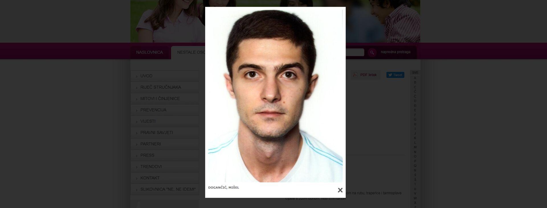 U Zagrebu nestao 28-godišnji policajac, jeste li ga vidjeli?