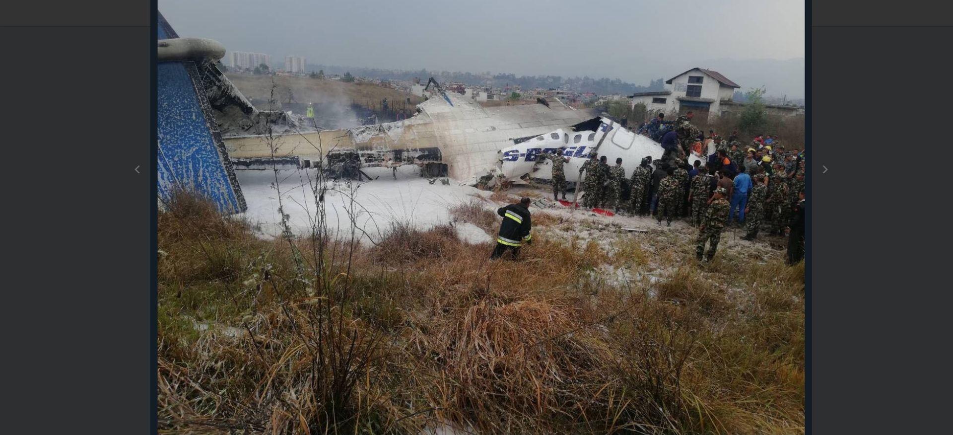 Srušio se putnički zrakoplov u nepalskoj zračnoj luci