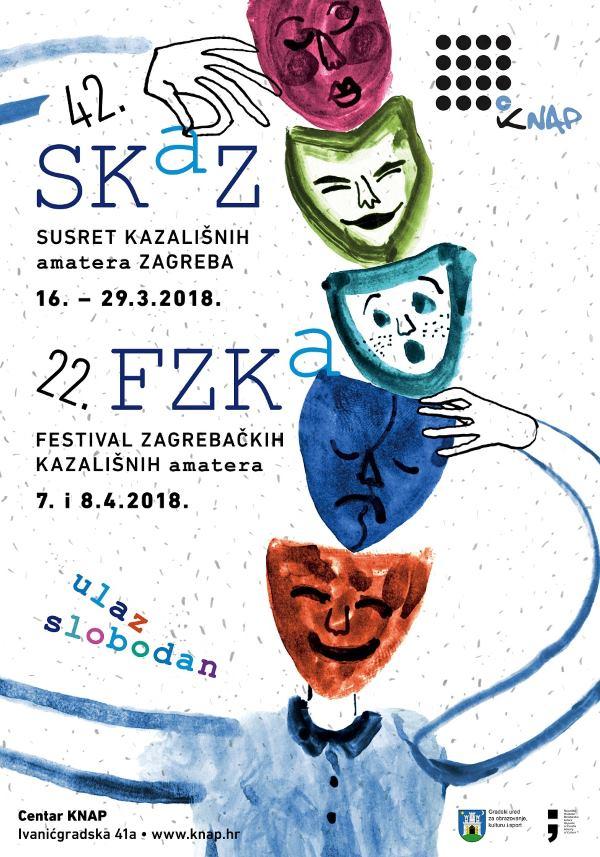 Susreti kazališnih amatera Zagreba (SKAZ) traju do 29. ožujka