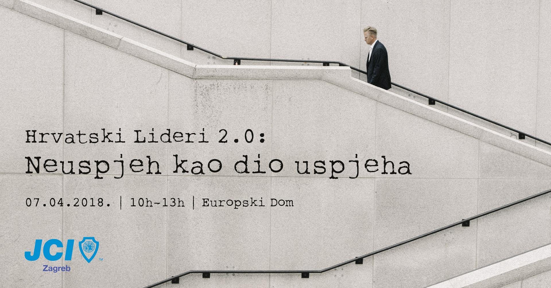 Konferencija Hrvatski lider 2.0: Neuspjeh kao dio uspjeha