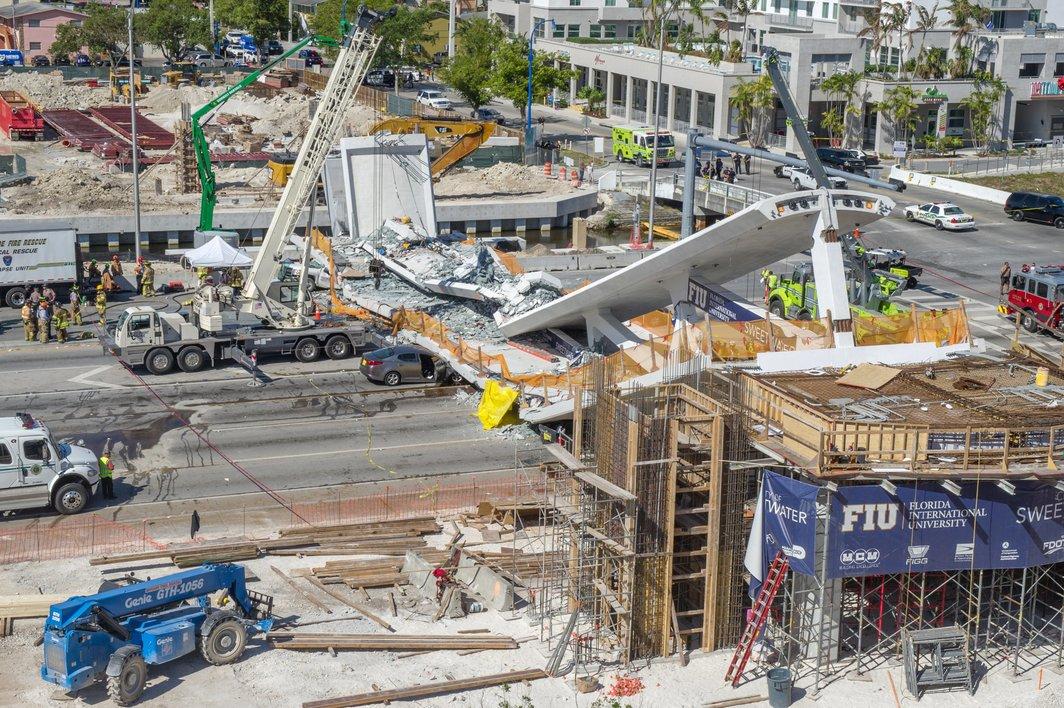 Florida: Inženjer izvijestio o pukotinama u mostu prije rušenja