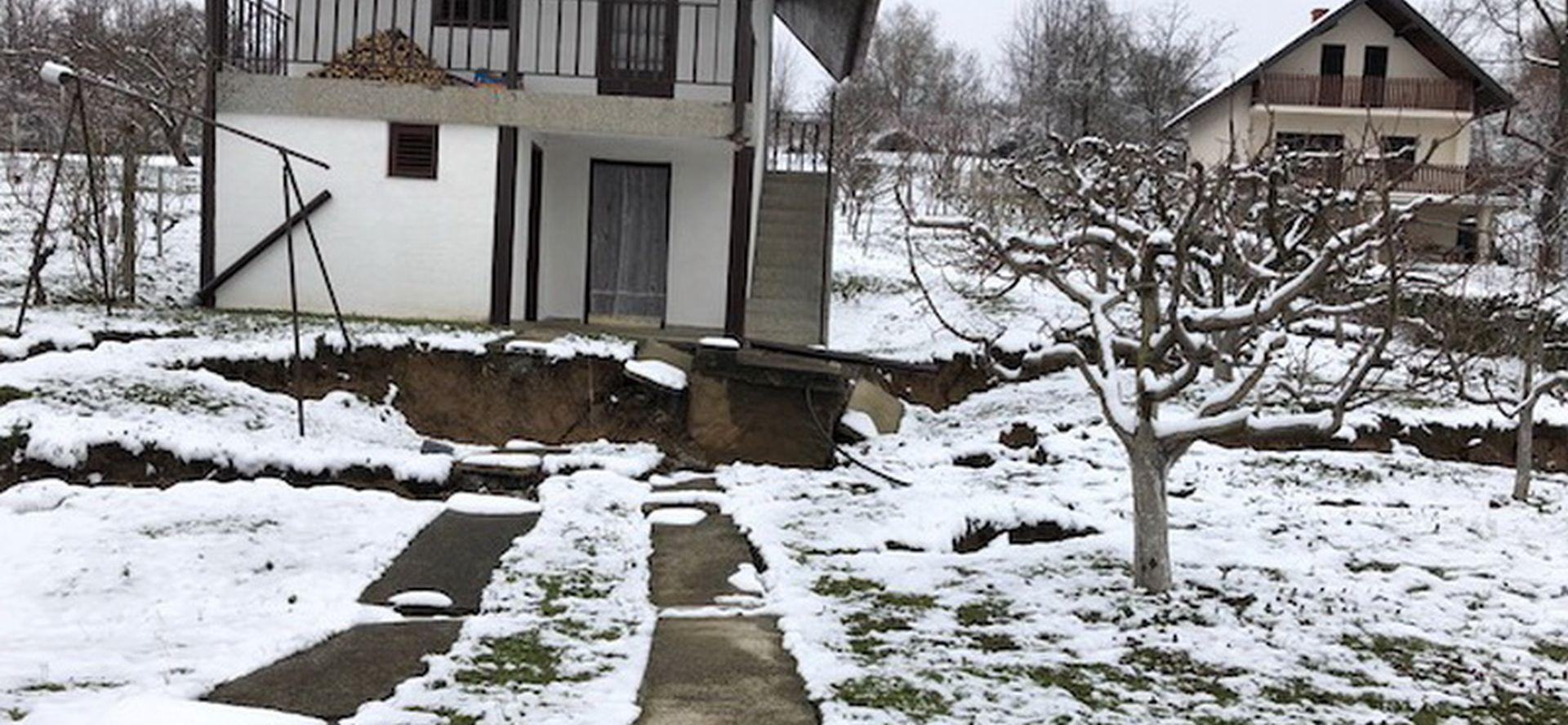 SLAVONSKI BROD Klizište ugrožava kuće za odmor
