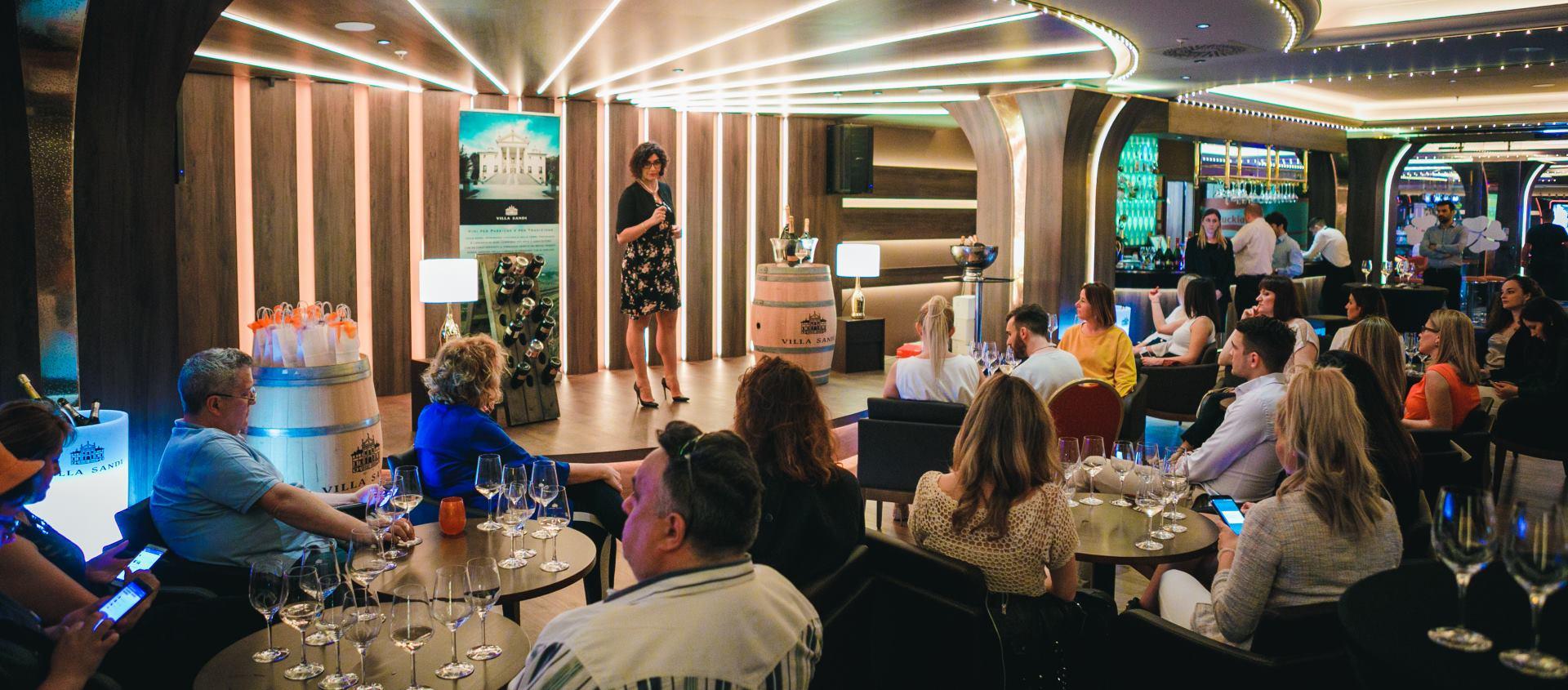 Miva galerija vina organizirala promociju poznatih talijanskih pjenušaca Villa Sandi