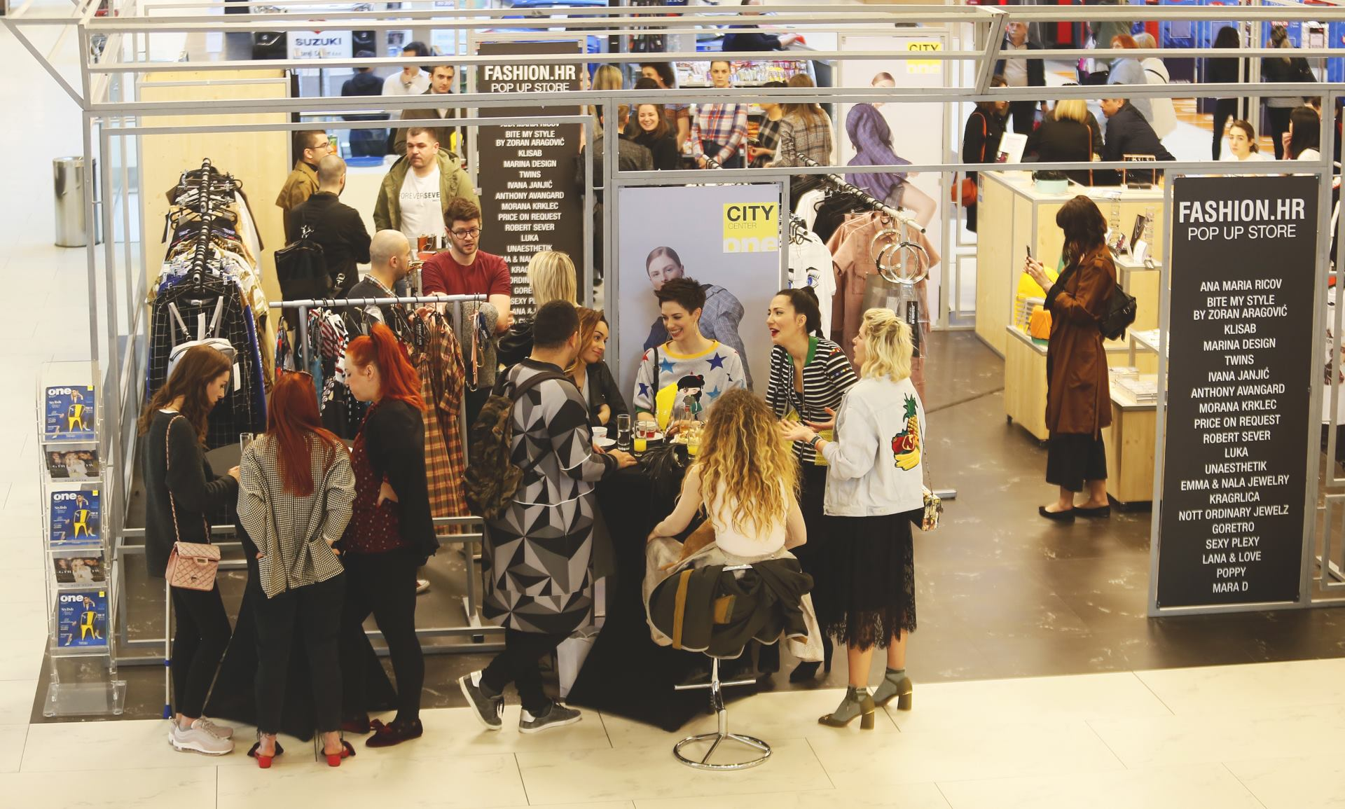 FOTO: Otvoren jedinstveni koncept butik – FASHION.HR pop up store