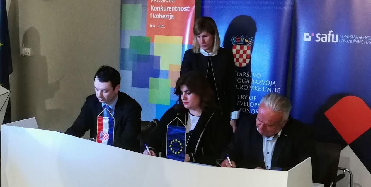 Potpisano devet ugovora o dodjeli bespovratnih EU sredstava