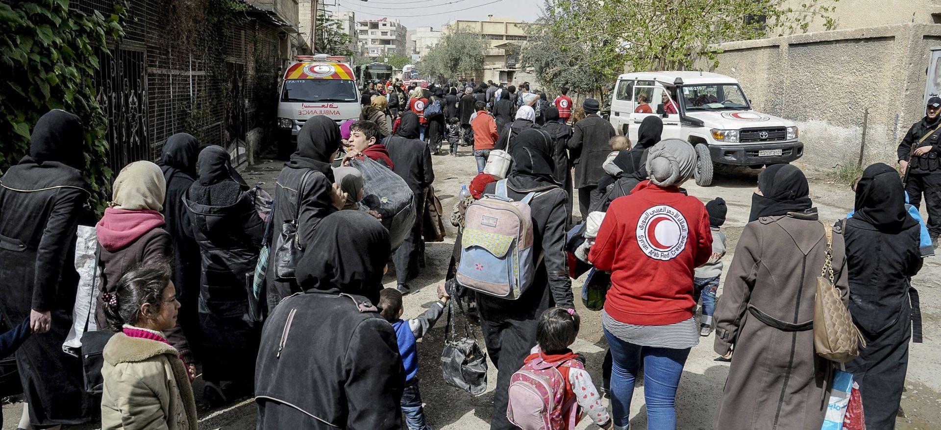 Sirijski pobunjenici napuštaju zadnje uporište u Istočnoj Guti