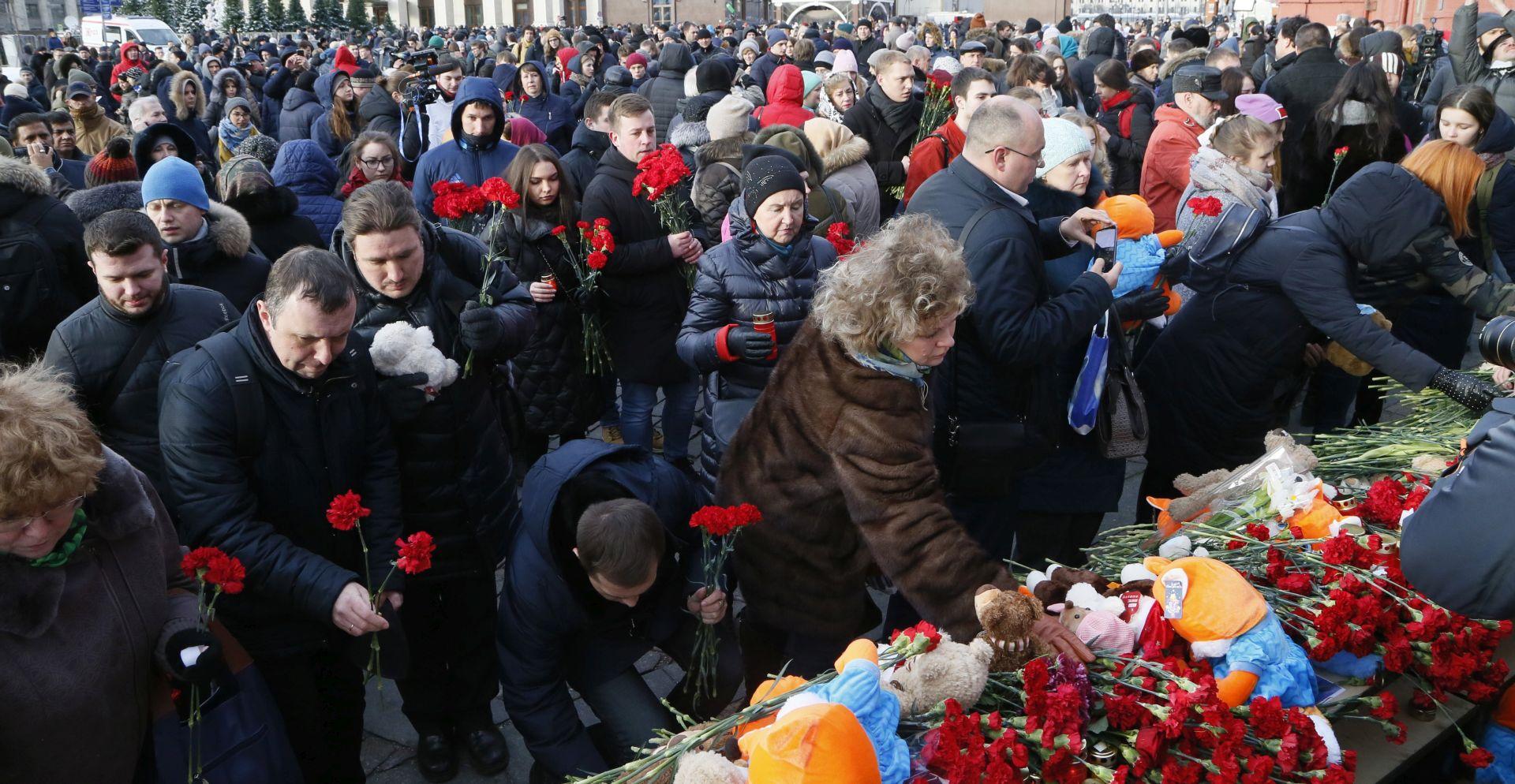 Nakon požara u Kemerovu guverner podnio ostavku
