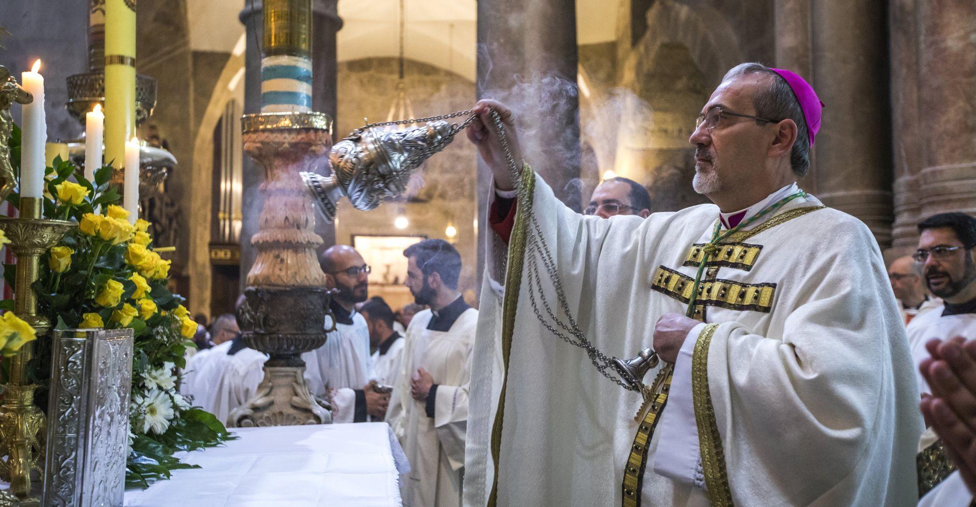 Uskrs u Jeruzalemu okupio hodočasnike iz cijeloga svijeta