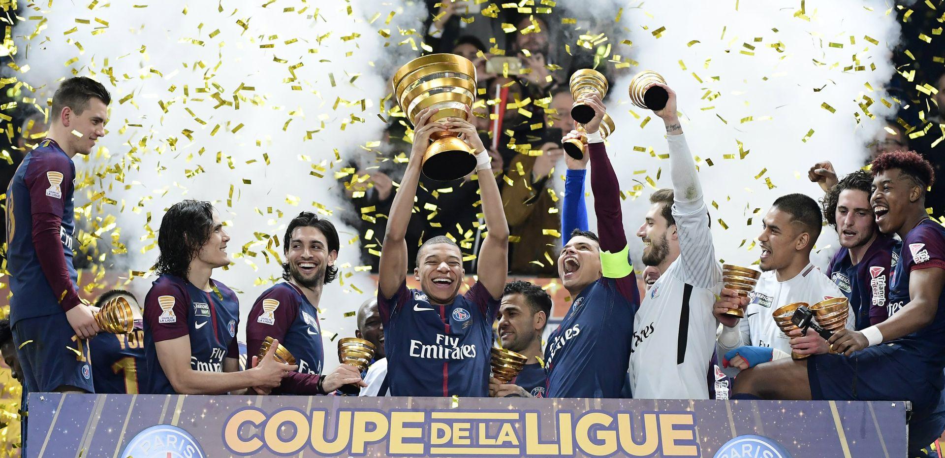 PSG osvojio Liga kup peti put zaredom