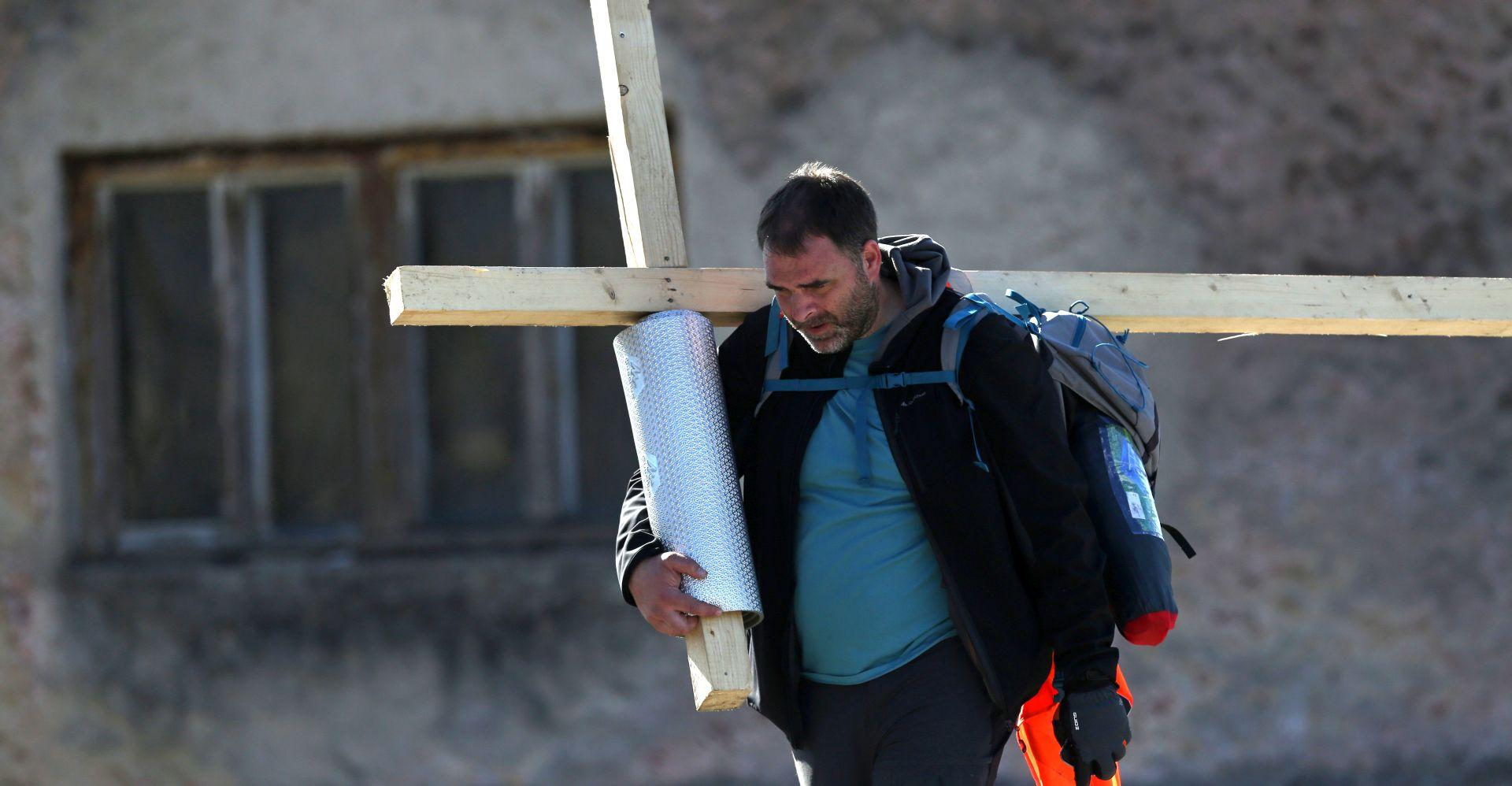 KRIŽNI PUT Saša Pavlić danas stiže na Markov trg