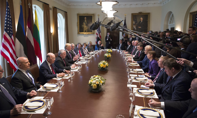 Trump primio čelnike baltičkih zemalja
