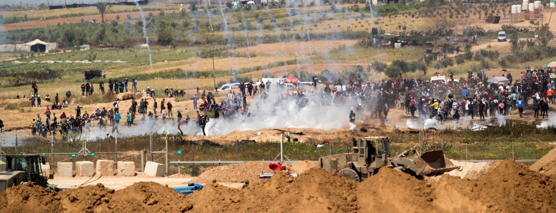 GRANICA GAZE I IZRAELA Ubijeno pet Palestinaca