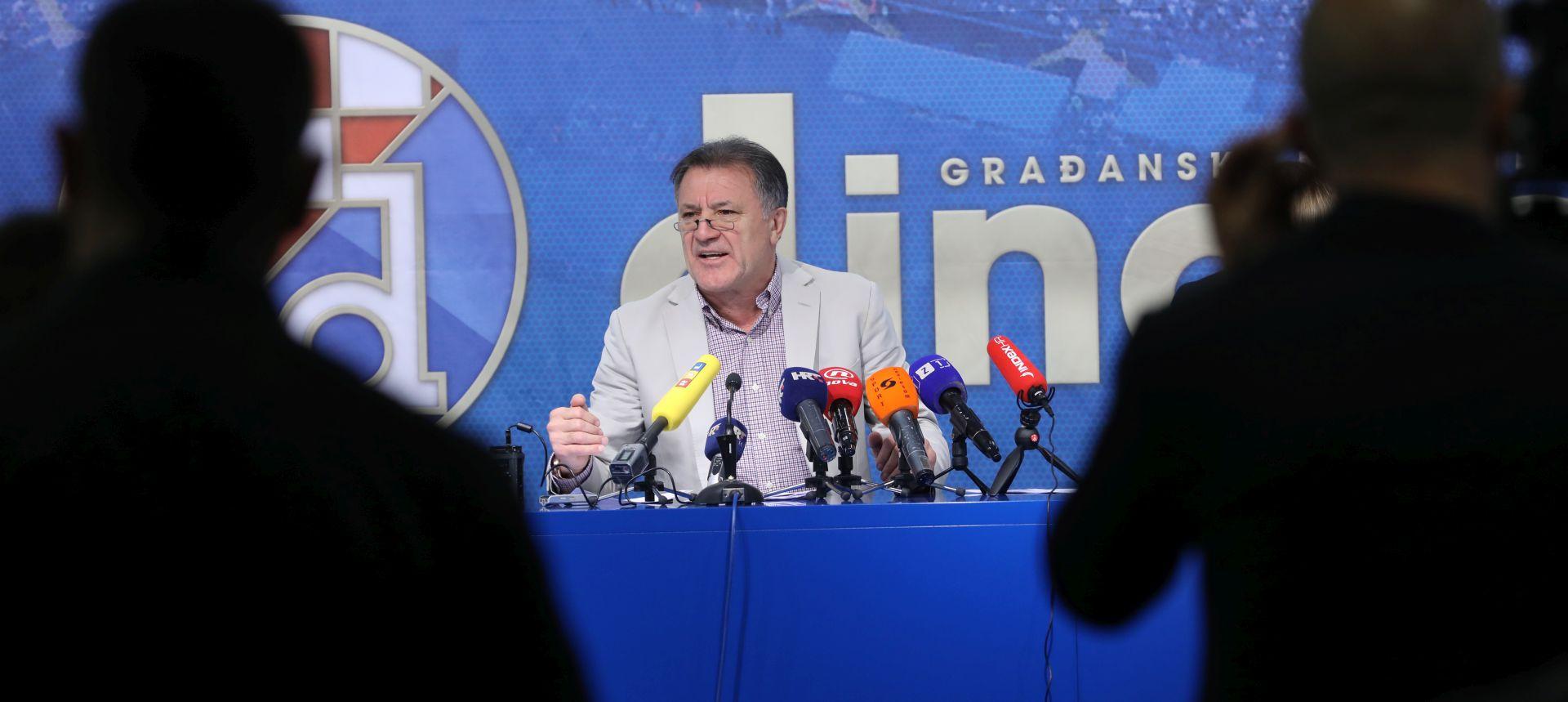 Mamić na pressici 'opalio' po Hajduku