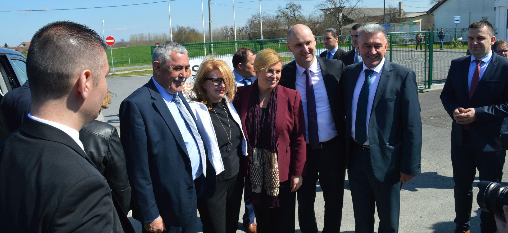 Predsjednica u Gudovcu pozvala na sveobuhvatnu agrarnu reformu