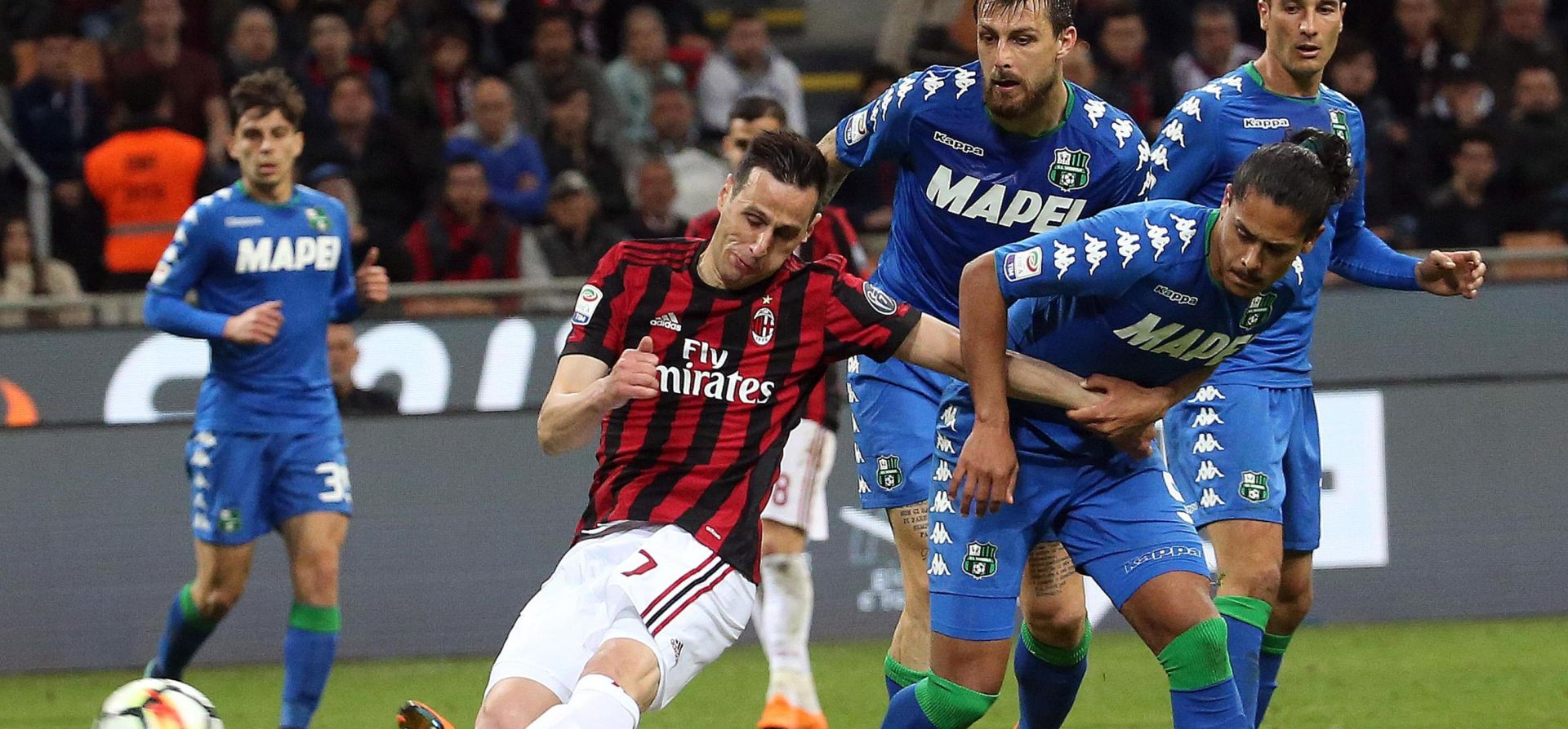 VIDEO: Kalinić donio Milanu bod protiv Sassuola