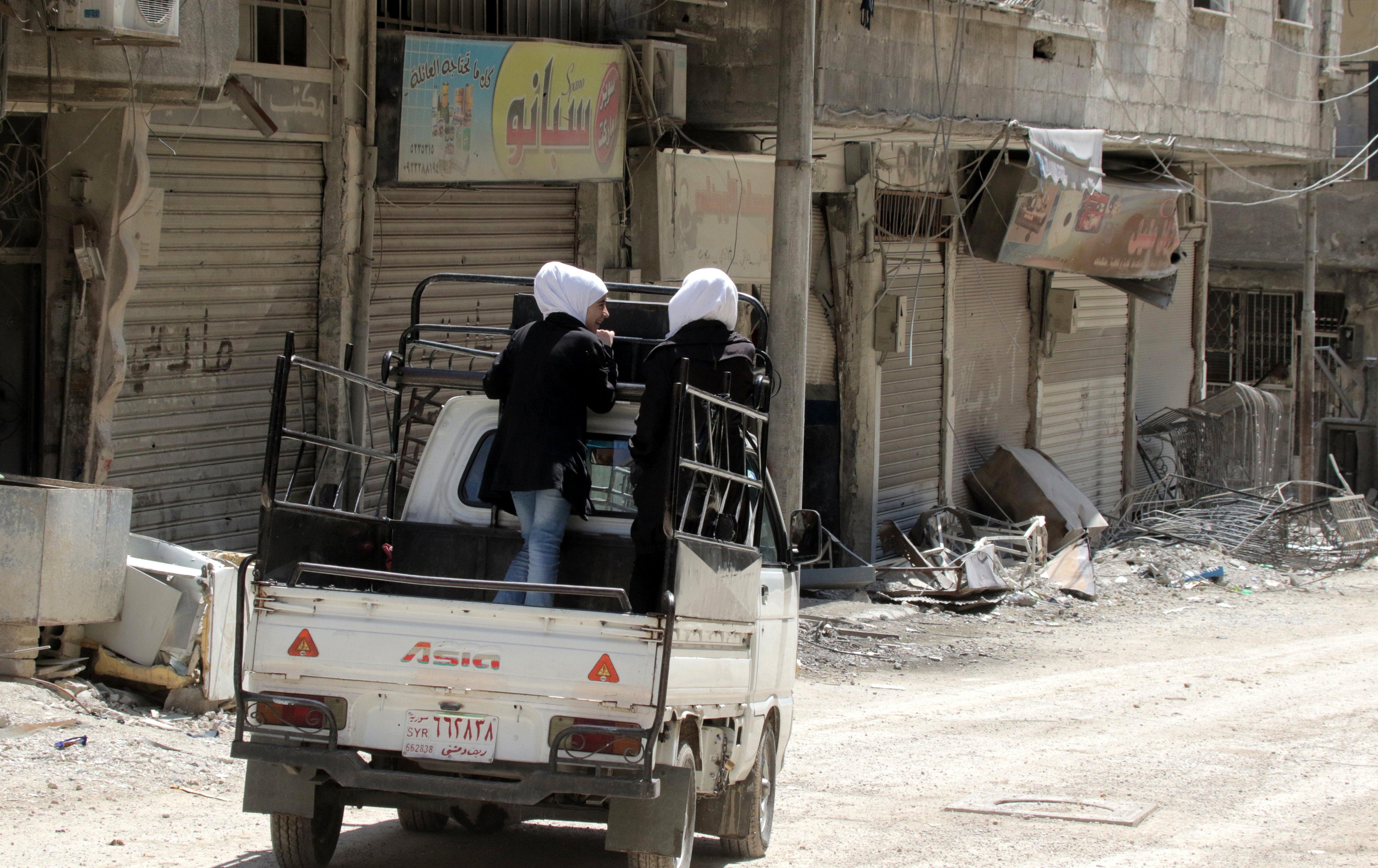 Inspektori za kemijsko oružje ušli u predgrađe Damaska