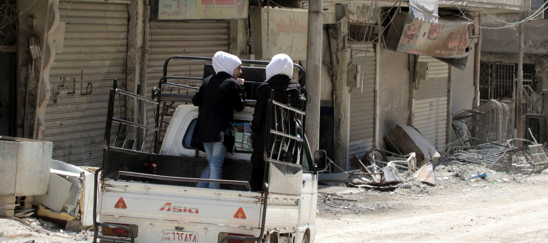 Sirijske snage u potpunosti kontroliraju Istočnu Gutu